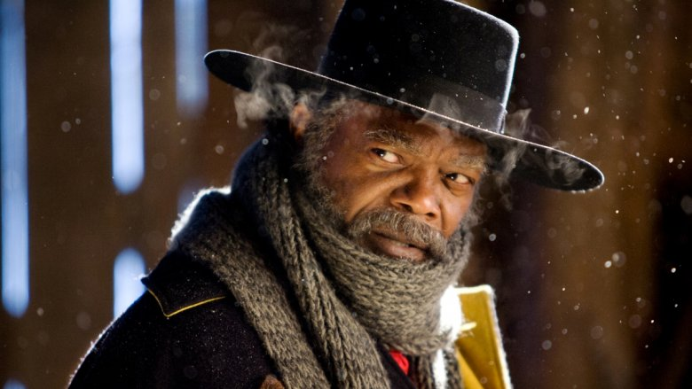 Samuel L. Jackson in The Hateful Eight
