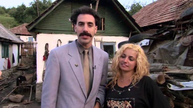 Opening scene in Borat