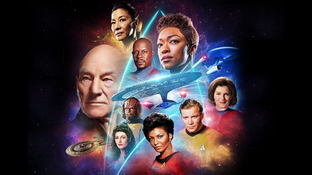The heroes of the Star Trek Universe, as presented in CBS's recent Star Trek United campaign