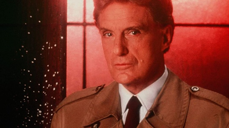 Robert Stack hosts the original Unsolved Mysteries on NBC