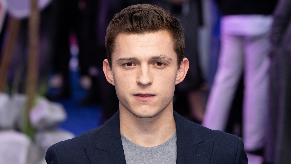 Tom Holland looking dapper on the red carpet