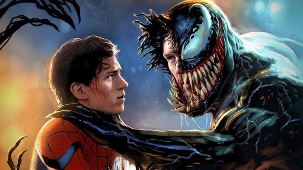 Tom Holland Spider-Man Tom Hardy Venom