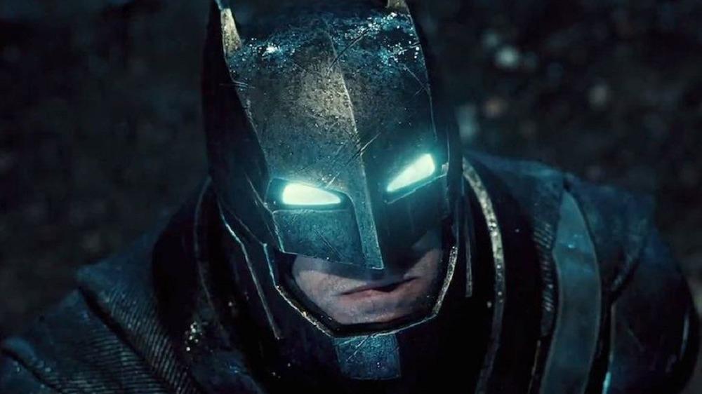Batman angry