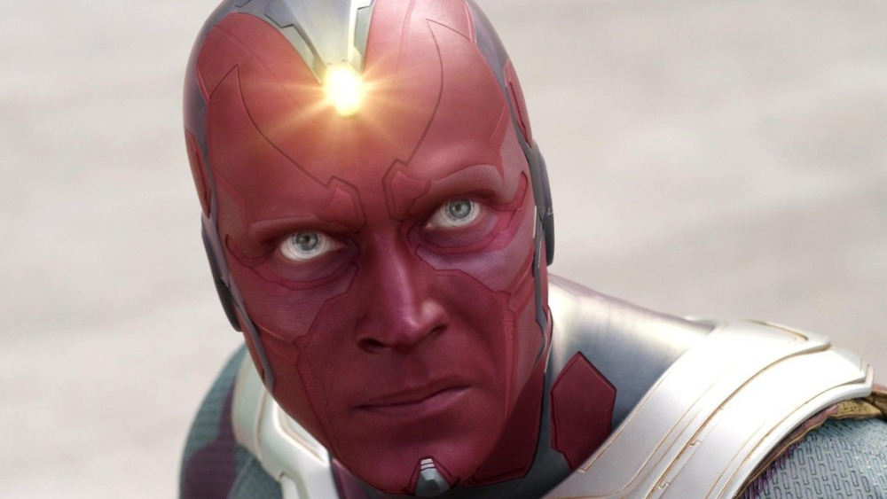 Vision with glowing Mind Stone