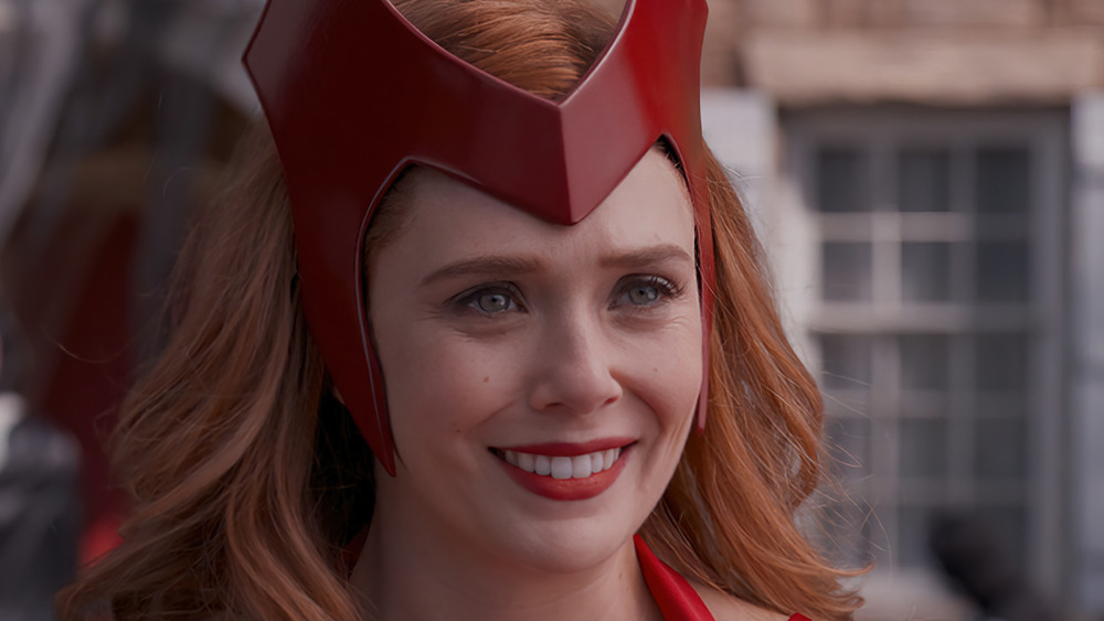Scarlet Witch in costume