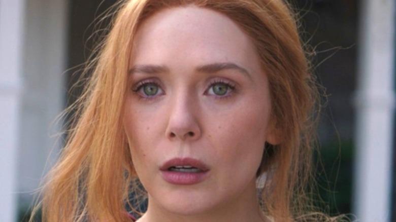 WandaVision Elizabeth Olsen shocked