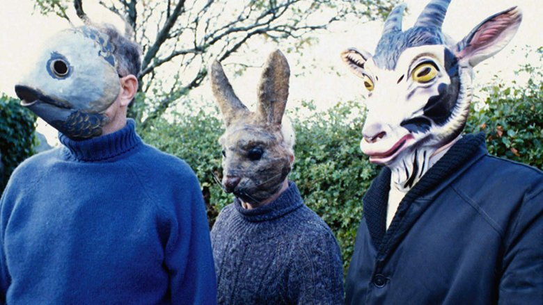 Villagers from 'The Wicker Man'