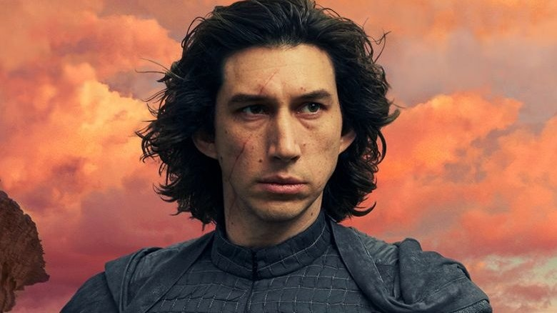 Adam Driver as Kylo Ren in Rise of Skywalker