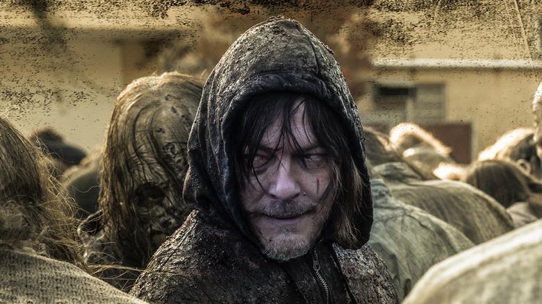 Norman Reedus in The Walking Dead season 10 promo art