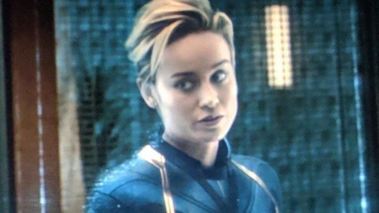 Brie Larson as Captain Marvel Carol Danvers Avengers Endgame