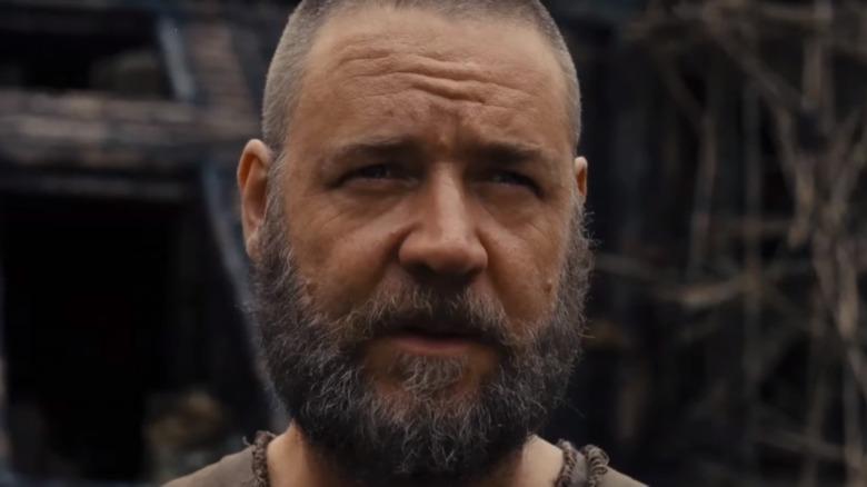 Russell Crowe Noah Shaved Head