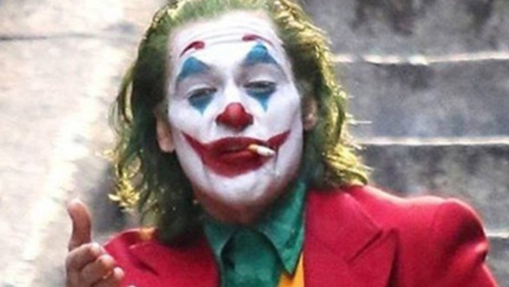 We now know why Joaquin\u0027s Joker dances so much