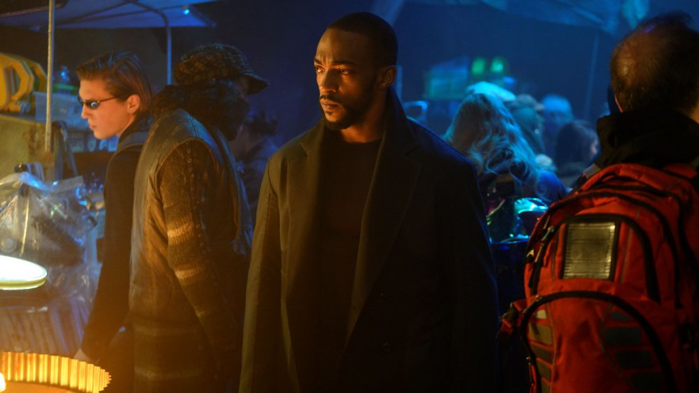 Anthony Mackie stars in Altered Carbon