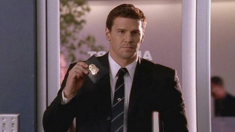 David Boreanaz as FBI Agent Seeley Booth in Bones
