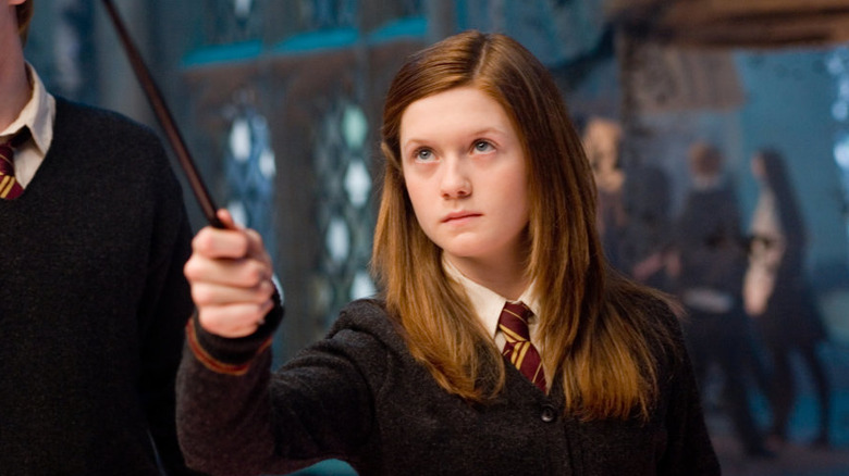 Bonnie Wright in Harry Potter and the Order of the Phoenix