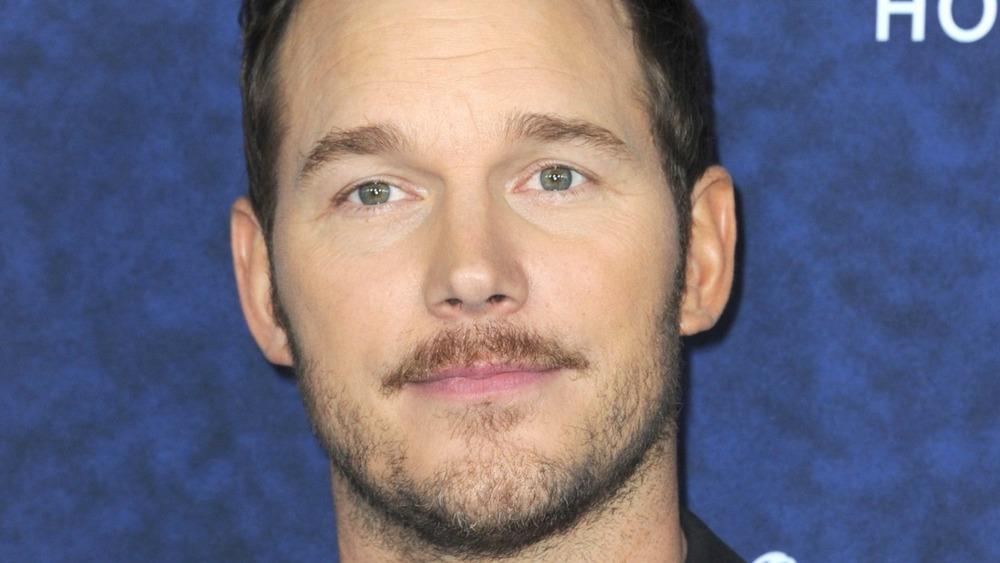 Chris Pratt mustache beard