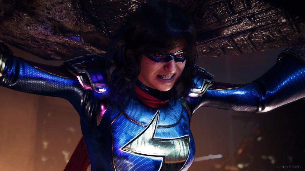 crystal dynamics, marvel's, avengers, square enix, critics, reviews,