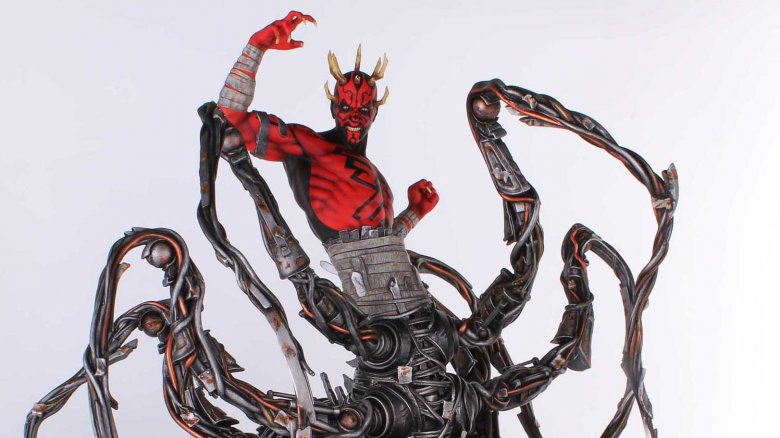 Darth Maul with robot spider legs