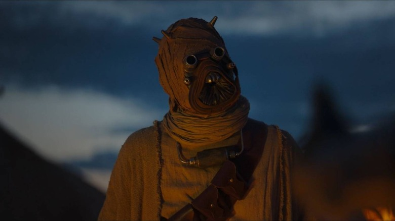 What Do Tusken Raiders In The Mandalorian Look Like With No Mask
