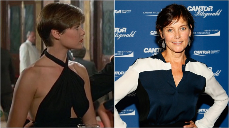 Carey Lowell then and now