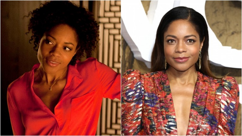 Naomie Harris then and now