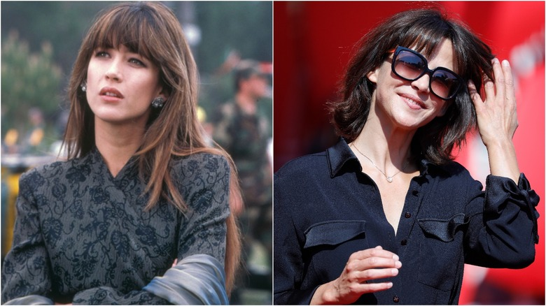 Sophie Marceau then and now