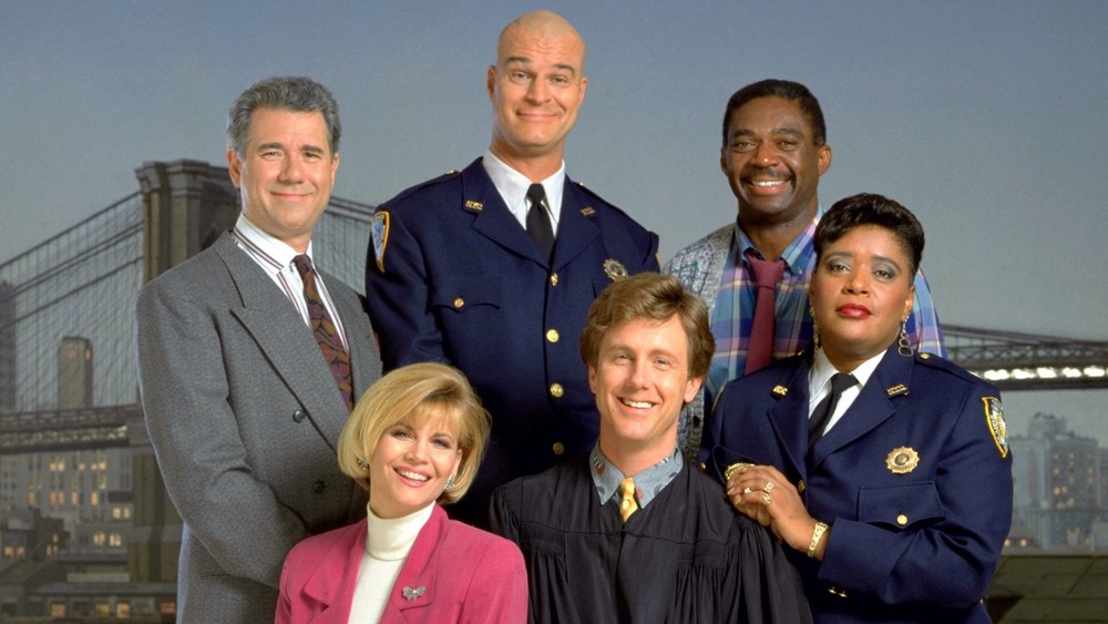 The cast of Night Court