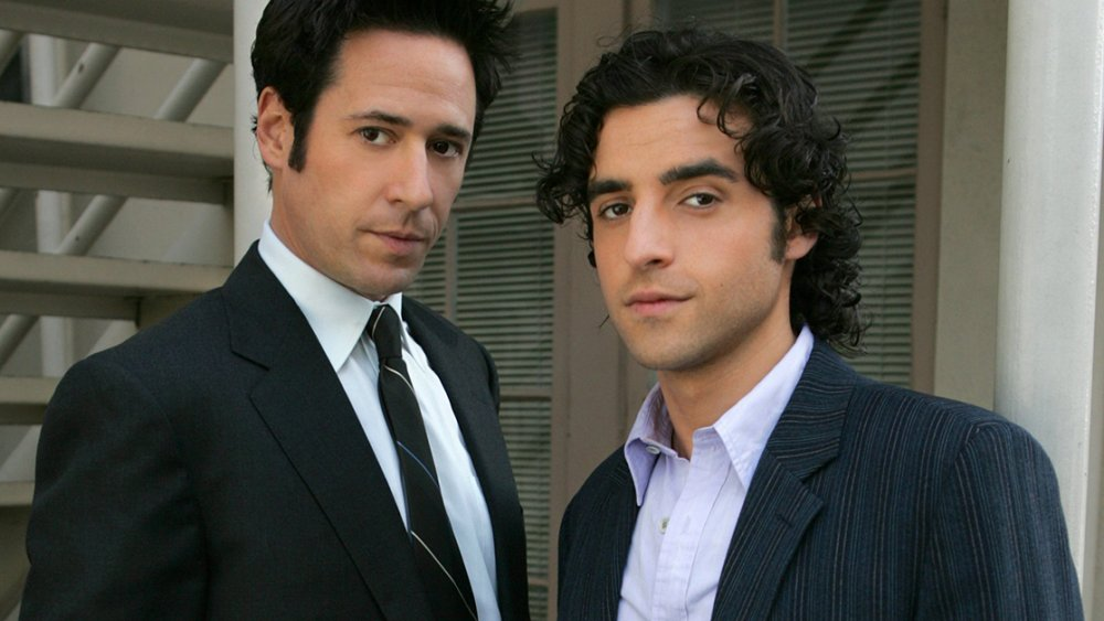 Rob Morrow and David Krumholz in Numb3rs