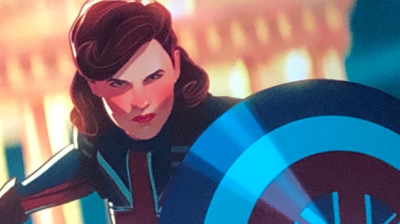 What If? footage shows Peggy Carter's Captain Britain