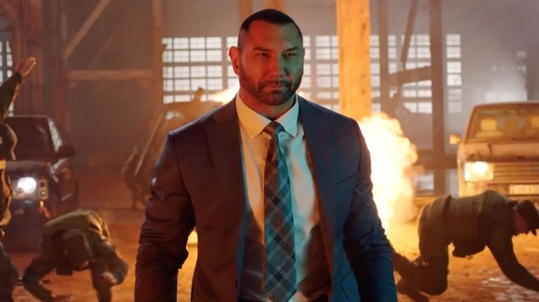 Dave Bautista as JJ in My Spy