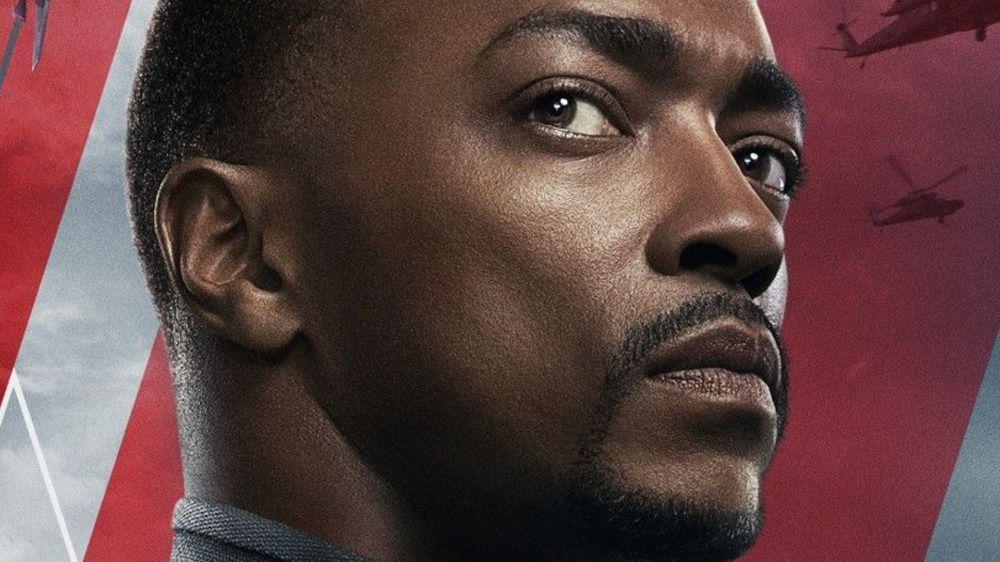 Anthony Mackie The Falcon and the Winter Soldier poster