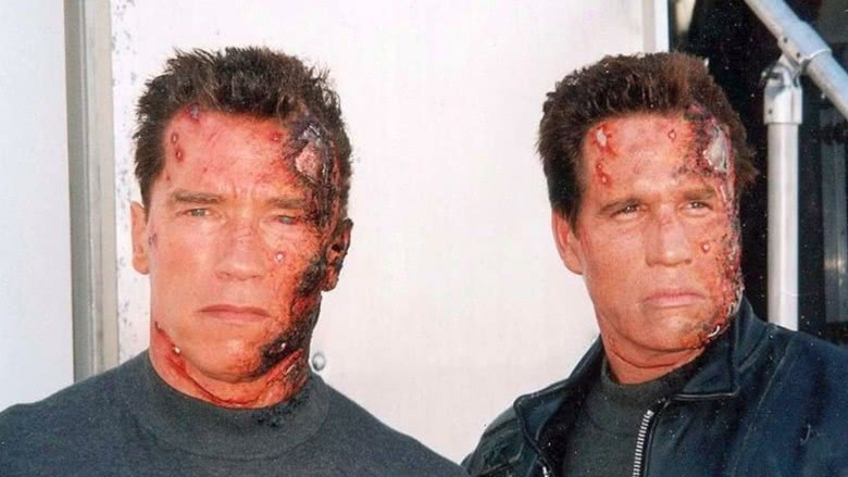 Image result for arnold schwarzenegger stunt double