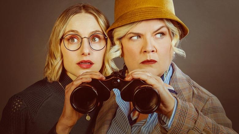 Hayley Magnus and Paula Pell on Mapleworth Murders