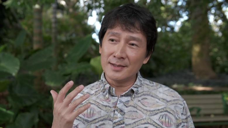 Ke Huy Quan in jungle