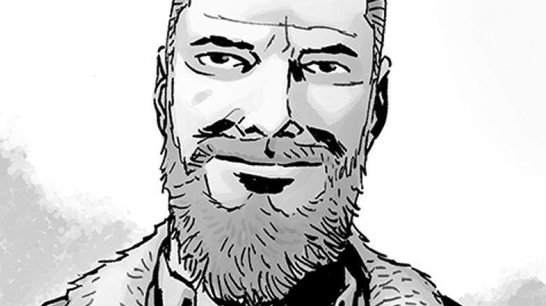 Rick Grimes with beard