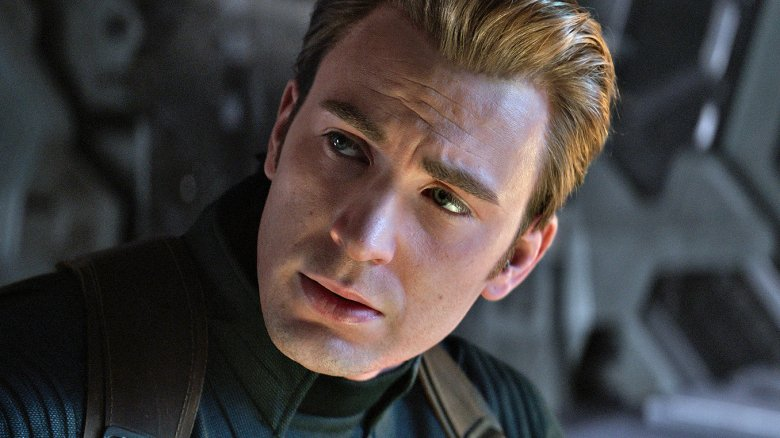 Chris Evans Captain America Avengers: Endgame
