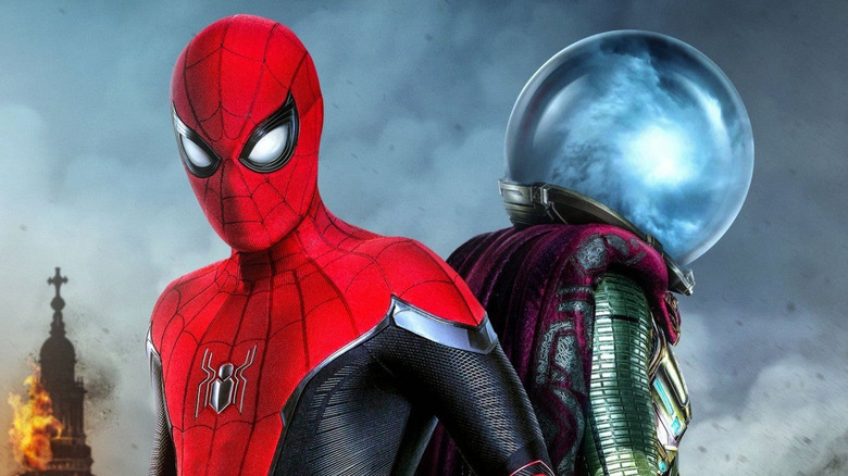 Spider-Man: Far From Home international poster