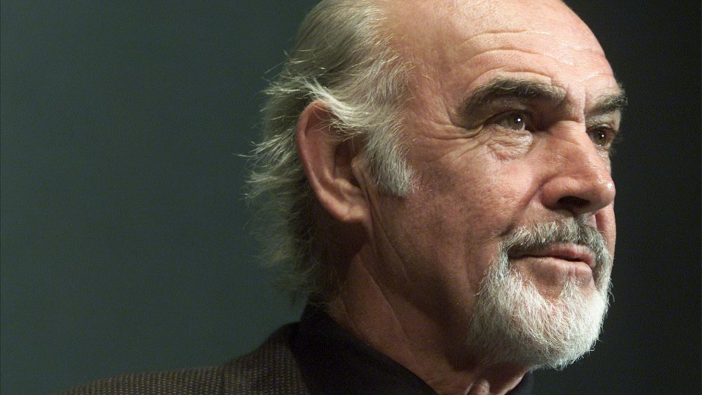 The late actor Sean Connery