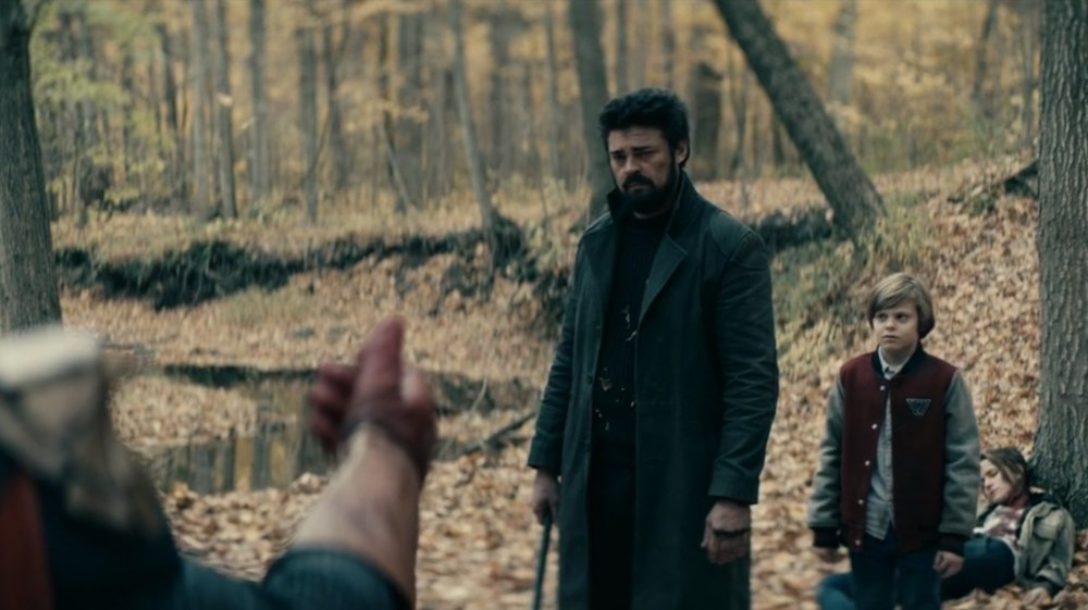 Karl Urban as Billy Butcher and Ryan in The Boys