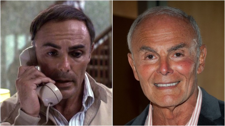 John Saxon then and now