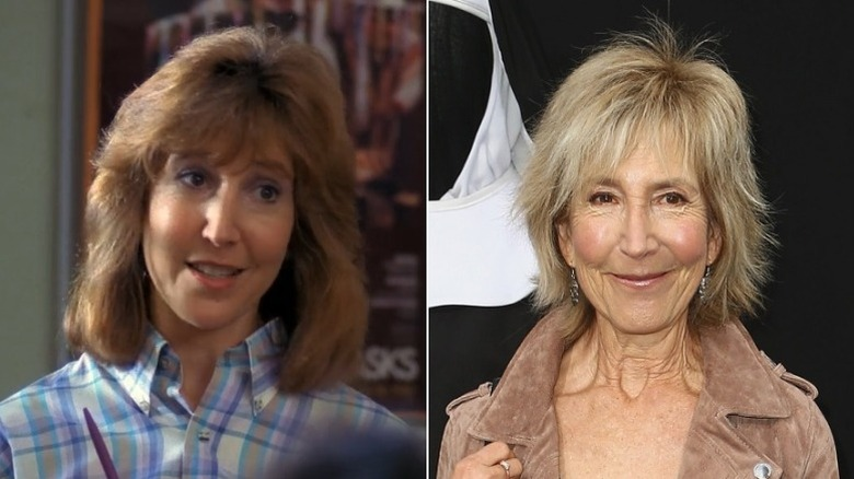Lin Shaye then and now