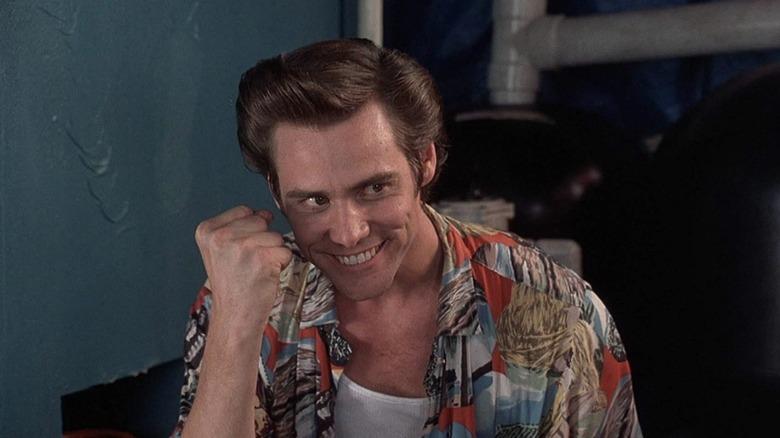 Jim Carrey as Ace Ventura