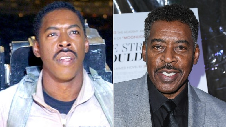 Ernie Hudson then and now