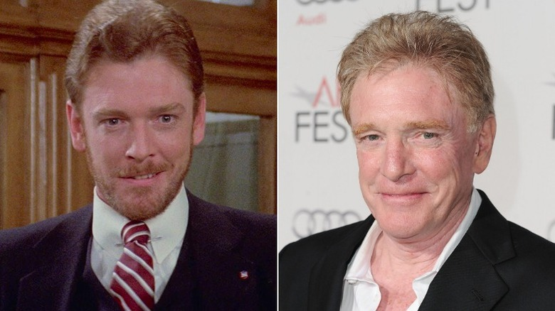 William Atherton then and now