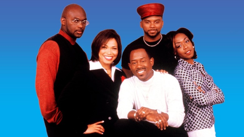 The cast of Martin