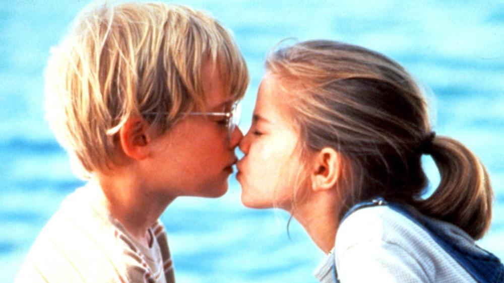 Macaulay Culkin and Anna Chlumsky