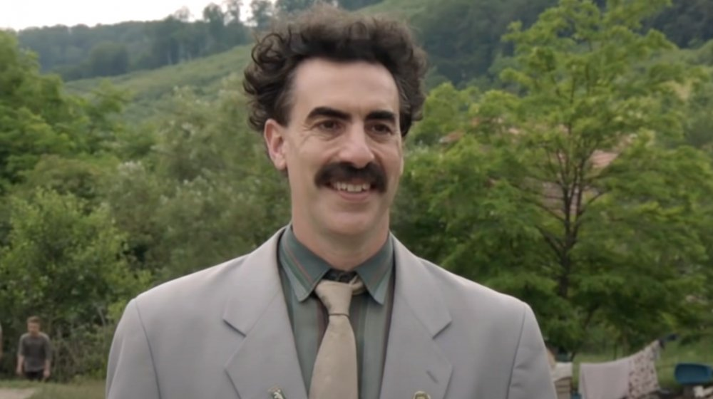 Sacha Baron Cohen as Borat in Borat 2