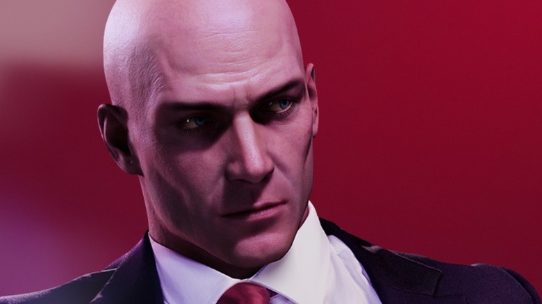 Agent 47 looks off