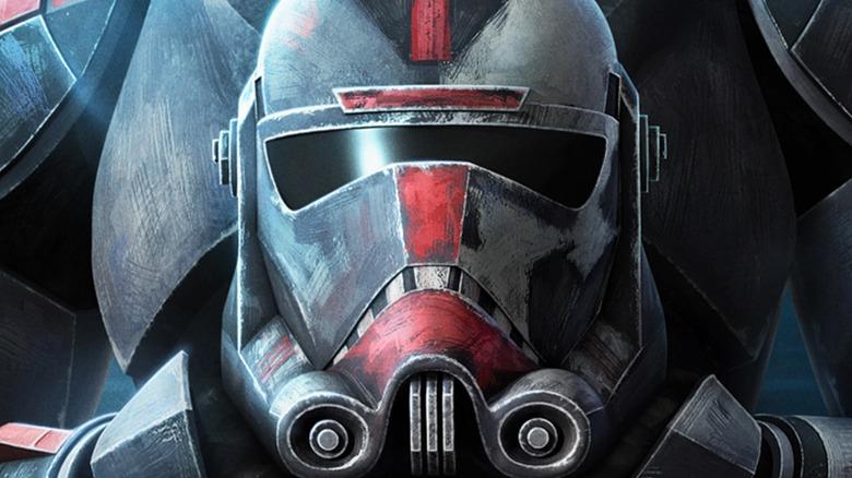 Bad Batch trooper looking tough