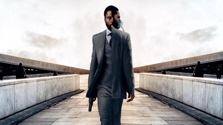Joel David Washington in poster for Christopher Nolan's Tenet
